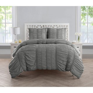 VCNY Home Holly Ruched Comforter Set