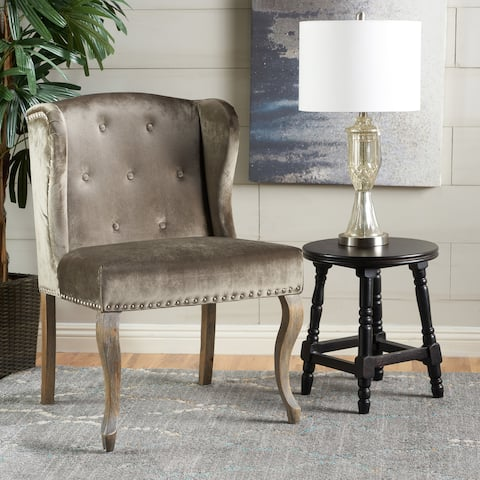 Niclas Velvet Wingback Chair by Christopher Knight Home