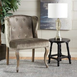 Charmant Niclas Velvet Wingback Chair By Christopher Knight Home