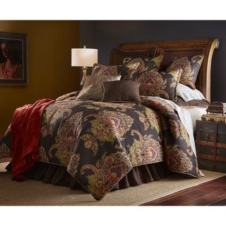 Link to PCHF Regal Woven Jacquard 3-piece Comforter Set Similar Items in Comforter Sets