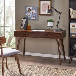 Julio Acacia Wood Desk by Christopher Knight Home