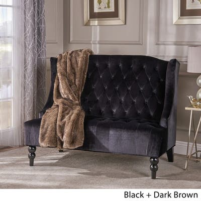 Buy Black, Velvet Sofas & Couches Online at Overstock | Our ...