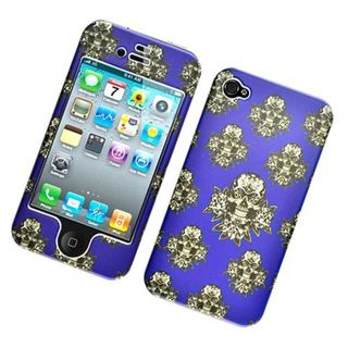 Insten Multi-Color Skull Hard Snap-on Case Cover For Apple iPhone 4/4S