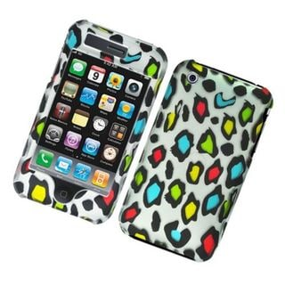 Insten Multi-Color Leopard Hard Snap-on Case Cover For Apple iPhone 3G/3GS