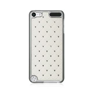 Insten White Hard Snap-on Case Cover with Diamond For Apple iPod Touch 5th Gen