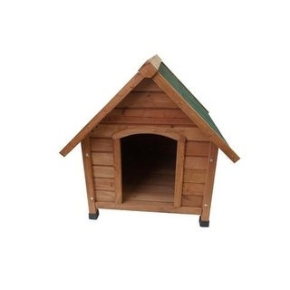 """Lovupet 28"""" Wooden Rabbit Hutch Small Animal House Pet Cage Coop"""