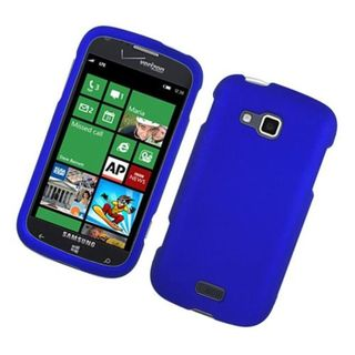 Insten Blue Hard Snap-on Rubberized Matte Case Cover For Samsung ATIV Odyssey