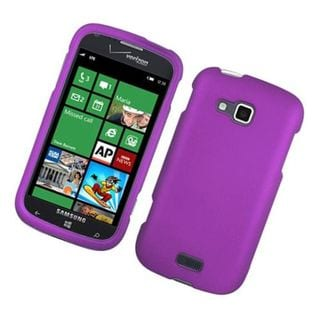 Insten Purple Hard Snap-on Rubberized Matte Case Cover For Samsung ATIV Odyssey