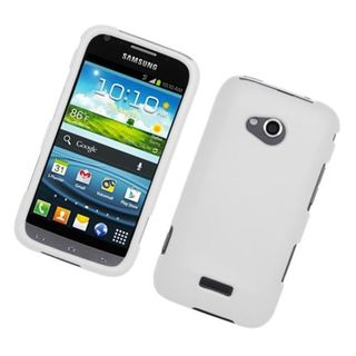 Insten White Hard Snap-on Rubberized Matte Case Cover For Samsung Galaxy Victory 4G LTE SPH-L300