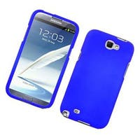 Insten Blue Hard Snap-on Rubberized Matte Case Cover For Samsung Galaxy Note II