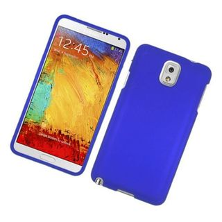 Insten Blue Hard Snap-on Rubberized Matte Case Cover For Samsung Galaxy Note 3
