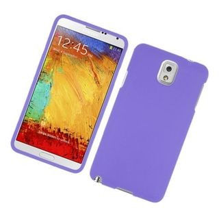 Insten Purple Hard Snap-on Rubberized Matte Case Cover For Samsung Galaxy Note 3