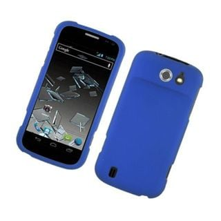 Insten Blue Hard Snap-on Rubberized Matte Case Cover For ZTE Flash N9500