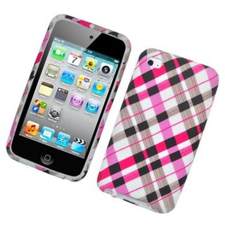 Insten Multi-Color Checker Hard Snap-on Case Cover For Apple iPod Touch 4th Gen