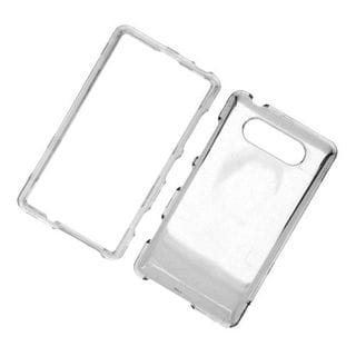 Insten Clear Hard Snap-on Case Cover For Nokia Lumia 820