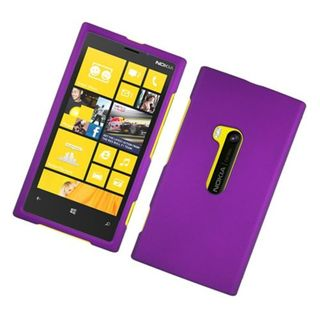 Insten Purple Hard Snap-on Rubberized Matte Case Cover For Nokia Lumia 920