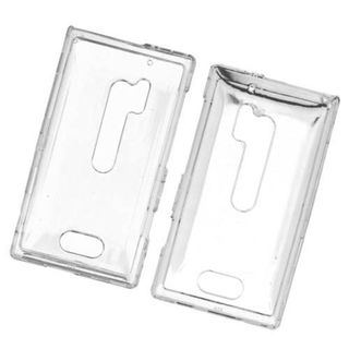 Insten Clear Hard Snap-on Case Cover For Nokia Lumia 928