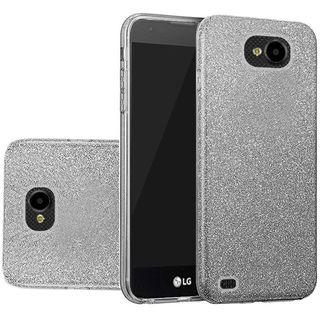 Insten Smoke Hard Snap-on Glitter Case Cover For LG X Venture