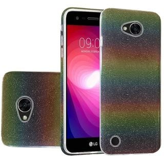 Insten Colorful Hard Snap-on Glitter Case Cover For LG X Power 2