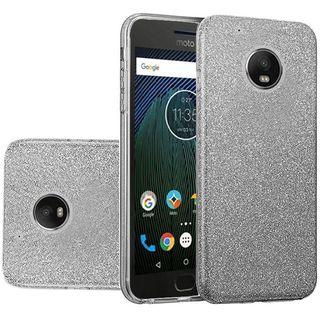 Insten Smoke Hard Snap-on Glitter Case Cover For Motorola Moto G5 Plus