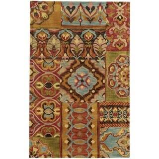 Tommy Bahama Jamison Multicolored Wool Area Rug (3'6 x 5'6)