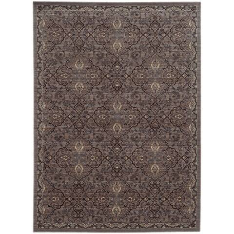 """Tommy Bahama Vintage Traditional Wool Area Rug - 1'10"""" x 3'3"""""""