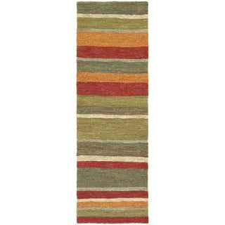 c02ff58e51 Shop Tommy Bahama Valencia Multicolored Jute Area Rug (2 6 x 8 ) - 2 6 x 8   - Free Shipping Today - Overstock.com - 16746720