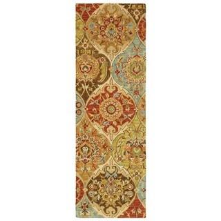 Tommy Bahama Jamison Multicolor Wool Area Rug (2'6 x 8')