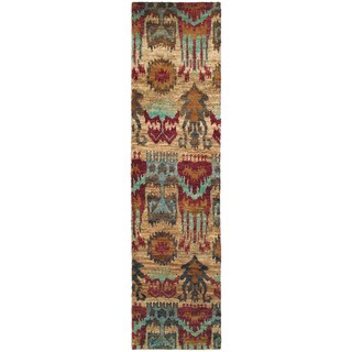 Tommy Bahama Ansley Multicolored Jute Runner Rug (2'6 x 10') - 2'6 x 10'