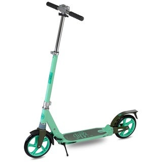 Scooride Jiffi J-40 Premium Folding Adult Kick Scooter- Green