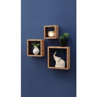 Organize it All Cork Box Shelf (S/3)