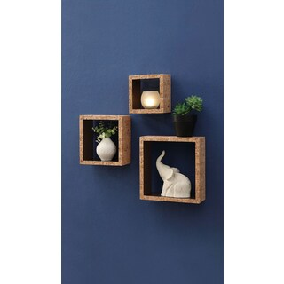 Organize it All Cork Box Shelf (S/3)