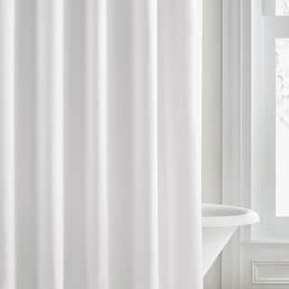 gray and black shower curtain. Vera Wang White Pique Shower Curtain Curtains For Less  Overstock com Vibrant Fabric Bath