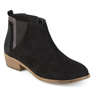 Journee Collection Women's 'Wiley' Faux Snake Heel Ankle Booties (More options available)