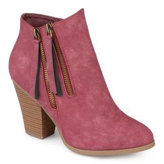 758d62f62c79 Buy Red Women s Booties Online at Overstock