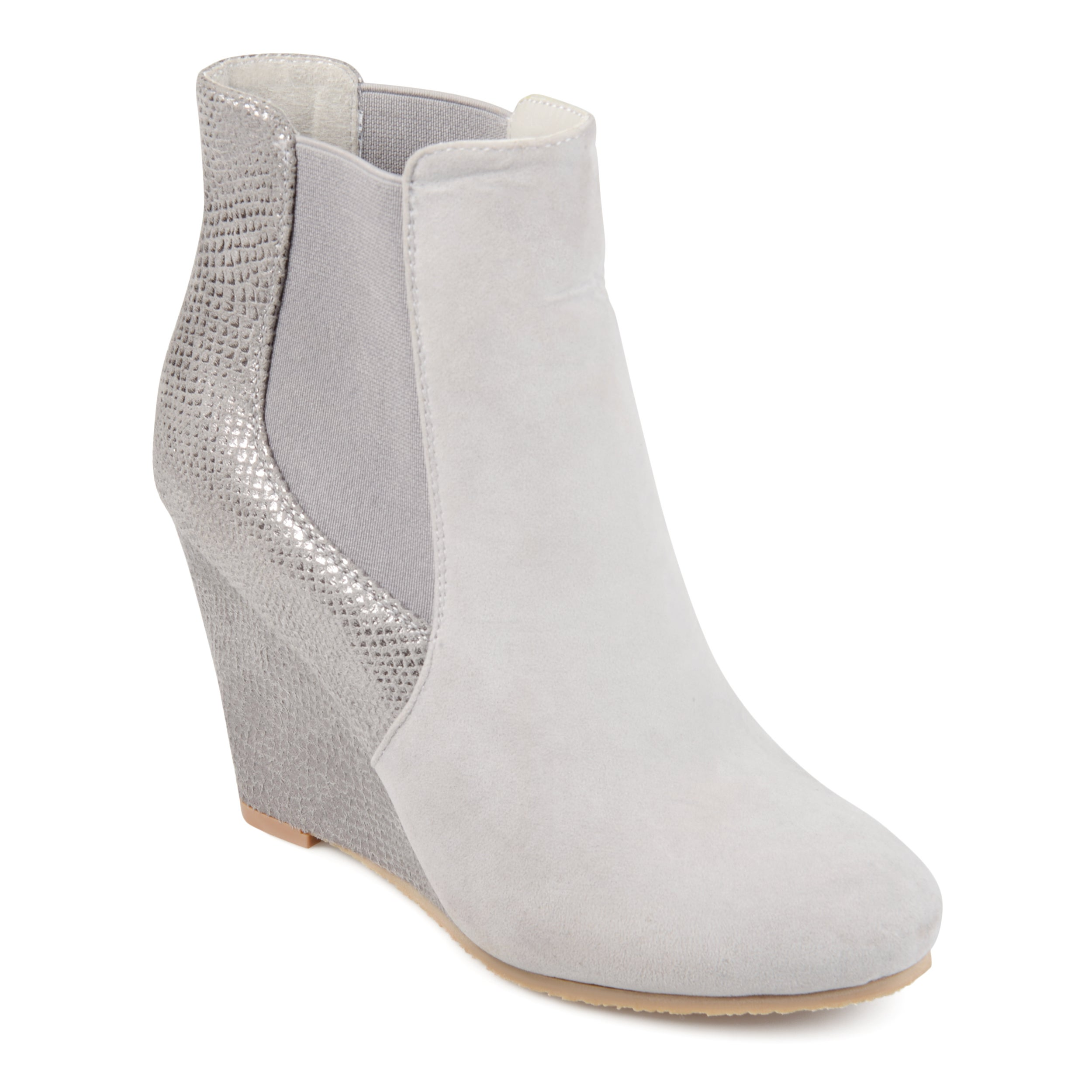 d213cf4bd538 Details about Journee Collection Women s  Linae  Round Toe Wedge Booties