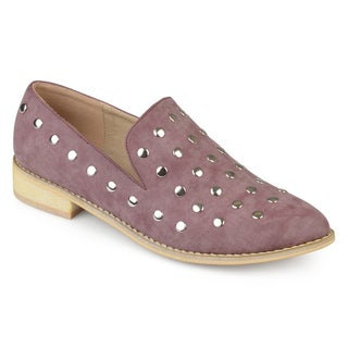 Journee Collection Women's 'Breeze' Pointed Toe Stud Flats