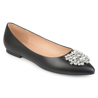 f09b994a583 Buy Black Women s Flats Online at Overstock
