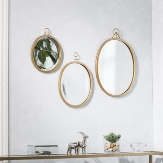 Harper Blvd Ellana Decorative Mirror 3 pc Set - Gold