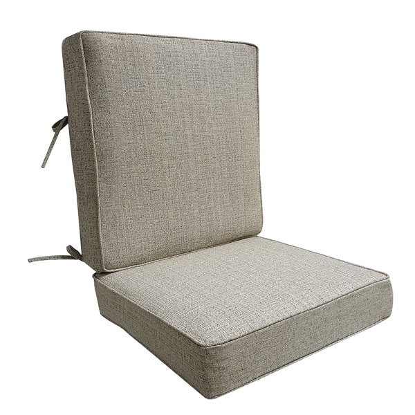 Shop Fiddlestix Outdoor Deep Seat Cushion Set Free Shipping Today