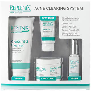 Replenix Acne 4-piece Clearing System Level 2