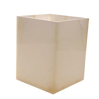 Rembrandt Home Pearl Onyx Wastebasket
