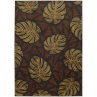 """Style Haven Tropical Impressions Indoor/Outdoor Area Rug (7'10 x 10'10) - 7'10"""" x 10'10"""""""