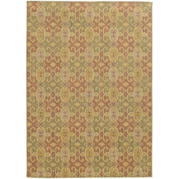 Style Haven Portico Traditions Multicolor Indoor/Outdoor Area Rug - 7'10 x 10'10