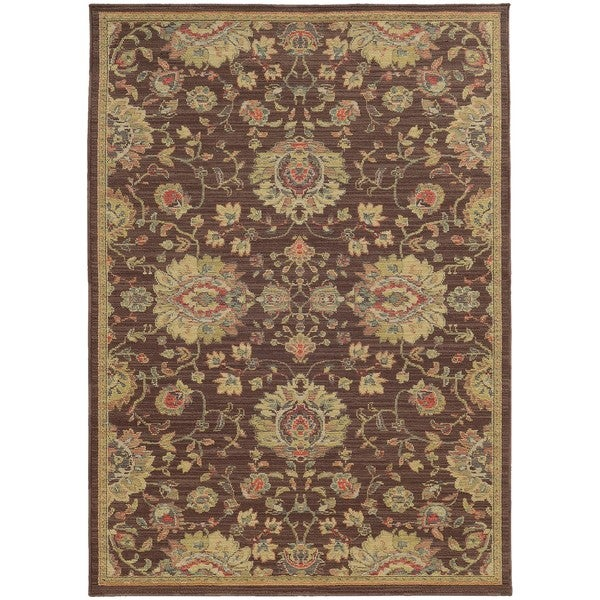 """Style Haven Floral Traditions Indoor/Outdoor Area Rug (7'10 x 10'10) - 7'10"""" x 10'10"""""""