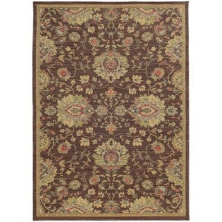 Style Haven Floral Traditions Indoor/Outdoor Area Rug (7'10 x 10'10)