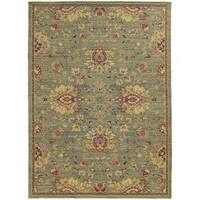 "Style Haven Floral Traditions Indoor/Outdoor Area Rug (7'10 x 10'10) - 7'10"" x 10'10"""