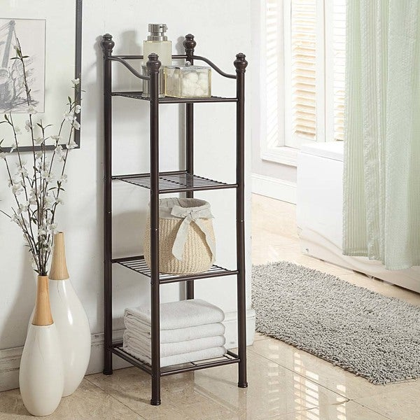 Belgium 4 Tier Bathroom Tower - Free Shipping Today - Overstock ...