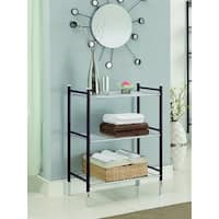 Duplex 3-tier Oil Rubbed Bronze Bathroom Shelf