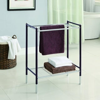Duplex Bathroom Towel Rack